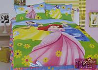 Детское постельное белье 160х210 Сатин Принцесса
