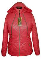 Молодежная женская куртка с отстежным болеро