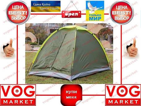 Палатка 2х мест. +антимоскит.сетка +чехол +колышки , фото 2