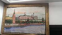 М Картина вышивка крестиком Москва кремль соцрелиз