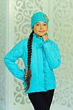 Куртка с шапкой для девочки Одри. Детская одежда. , фото 7