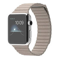 Ремешок Apple Watch Leather Loop 42mm grey
