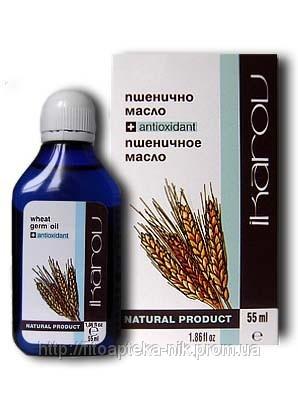 Масло пшеничных зародышей 55мл (Икаров) – дает свежесть и эластичность  сухой и стареющей коже