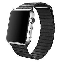 Ремешок Apple Watch Leather Loop 42mm black