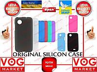 Силикон HTC One V/T320e цветной