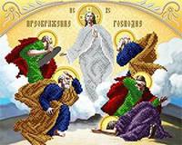 Схема для вышивания бисером икона Преображение Господне АС3-017