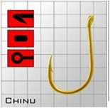 Крючки Metsui Chinu Gold № 3/0 - Южная Корея