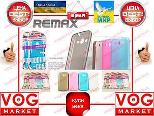 Чехол силиконовый цветной iPhone 5 Remax 0.2mm , фото 2