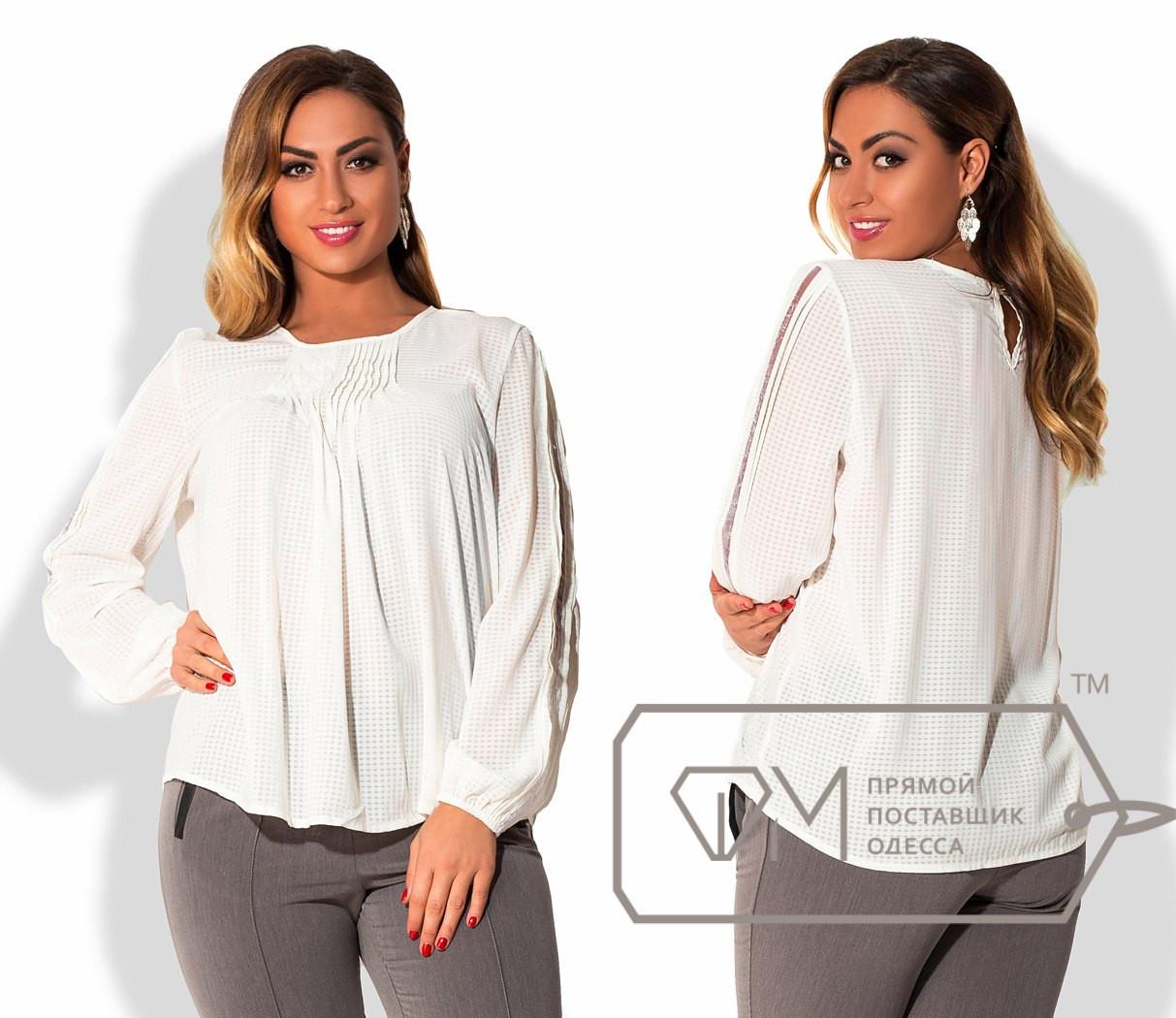 Белая блузка 56 размер купить