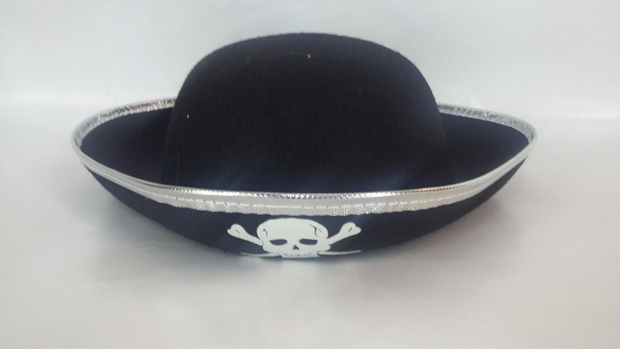 """Шляпа """" Пірат"""" трик. мала"""