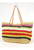 Сумка-плетёнка на пляж - 114438