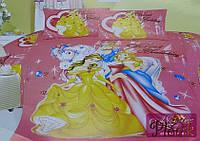 Детское постельное белье 160х210 Сатин Принцессы 233
