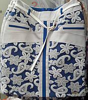 Летняя юбка с 3D