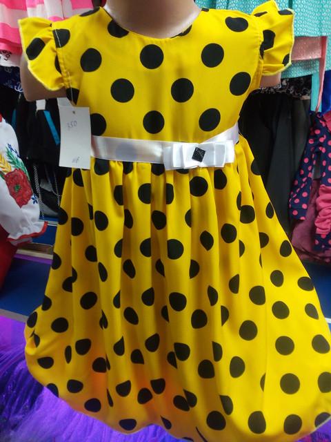 Легкие детские платья