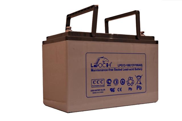 Акумулятор Leoch LPG12-100 (GEL)