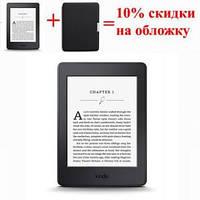 Электронная книга с подсветкой Amazon Kindle Paperwhite (2016) Black, 300 ppi, 4GB, Wi-Fi