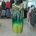 Платье женское теплое с тигровым принтом ,пл 058 размер 46- 54, фото 5