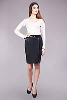 Классическая черная юбка Памела