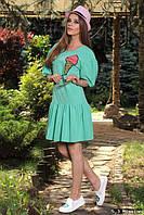 Платье Пломбир М93 в расцветках