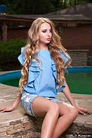 Молодежная блузка Минт М81 в расцветках Код:358592769