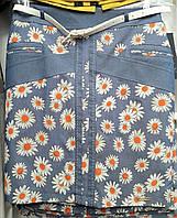 Летняя юбка в цветы
