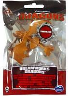 Коллекционная фигурка Spin Master Dragons Как приручить дракона. Беззубик с желтым хвостом (SM66562-12)