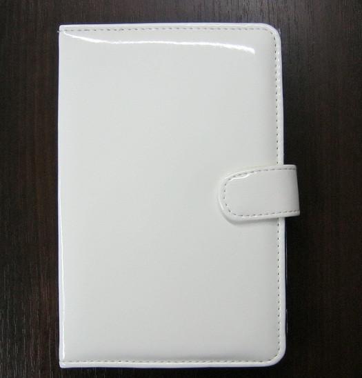 Чехол для планшета 7 на магните с подставкой лак белый