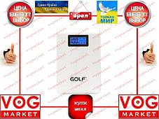 Внешний аккумулятор Golf GF-LCD01 10400 mAh белый, фото 2