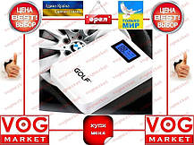 Внешний аккумулятор Golf GF-LCD01 10400 mAh белый, фото 3