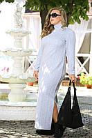 Повседневное длинное платье больших размеров (рр 48-94), разные цвета