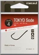Крючки Metsui Tokyo Sode № 9 - Южная Корея
