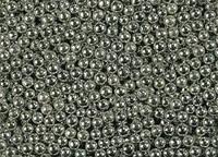 Посипка Шарики серебряные 5мм от 10г.(код 01079)