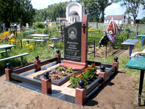 Памятник гранитный комбинированный