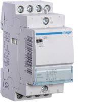 Контактор Hager ESC427, 230В/25A 2Н.О+2Н.З