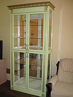 Витрина БАРСЕЛОНА 2-х дверная (салатовая)