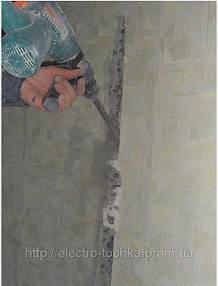 Выпиливание штробовки в бетоне болгаркой