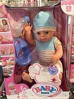 Baby born нежно розовый 2016 new
