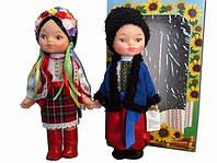 Комплект ляльок у традиційному наряді, одязі. Комплект кукол украинцев традиционный.