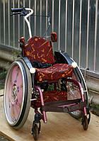 Коляска инвалидная детская спортивная 28см.