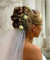 Весільна  зачіска  Салон-перукарня «Доміно» Львiв (Сихів), фото 1