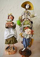 Авторские куклы (3 шт.)