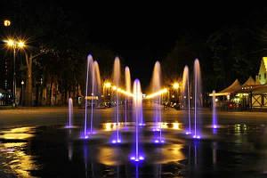 Гидроизоляция фонтанов в Парке культуры и отдыха им. М. Горького в Харькове