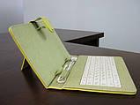 Чехол с клавиатурой к планшетам 7 Usb Губка Боб, фото 3