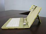 Чехол с клавиатурой к планшетам 7 Usb Губка Боб, фото 4