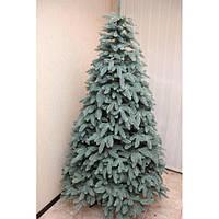 Искусственная елка литая ПРЕМИУМ голубая 1,20 - 3,50 м.