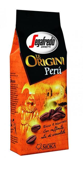Кофе молотый из Италии Segafredo Le Origini Peru 250 г.