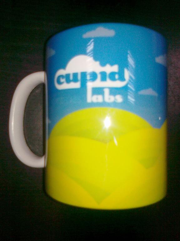 Печатали на чашках методом сублимации