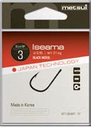 Крючки Metsui Iseama Gold № 6 - Южная Корея
