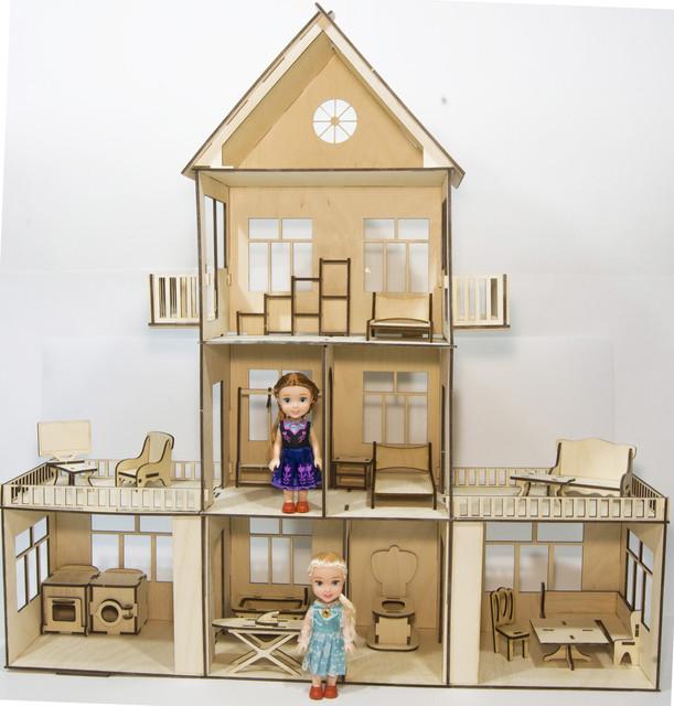 Игровые наборы (с куколками, посудой, аксессуарами, мебелью)
