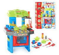 Игровой набор Кухня 008-26 A плита, духовка, 63-41,5-27см, посуда, звук,свет